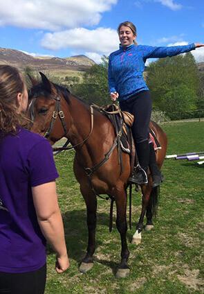 Trick Riding Vaulting And Equestrian Display Team Scotland